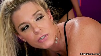 Babe shared a hard cock with big tits milf on the couch bf xxx video